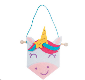 Mini Unicorn Banner Craft Kit