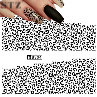 Water Slide Decals - Leopard B304
