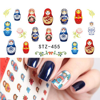Water Slide Decals - Nesting Dolls STZ-455