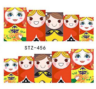 Water Slide Decals - Dolls STZ-456