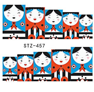 Water Slide Decals - Dolls STZ-457