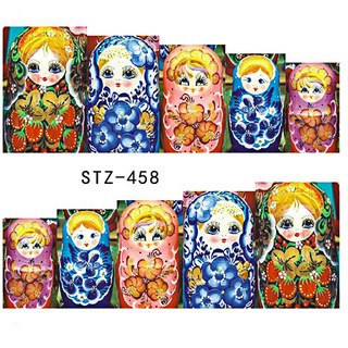 Water Slide Decals - Nesting Dolls STZ-458