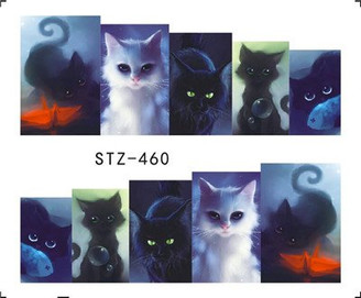Water Slide Decals - Cats STZ-460
