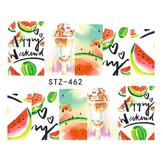 Water Slide Decals - Melon STZ-462