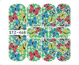 Water Slide Decals - Butterflies STZ-468