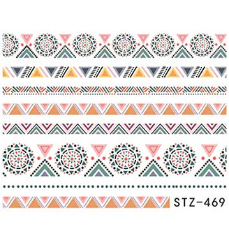 Water Slide Decals - Aztec STZ-469