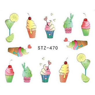 Water Slide Decals - Treats STZ-470