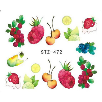 Water Slide Decals - Fruity STZ-472