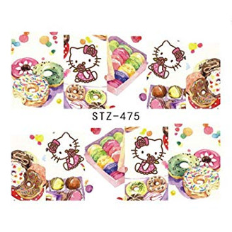 Water Slide Decals - Hello Kitty STZ-475