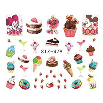 Water Slide Decals - Mouse Treats STZ-479