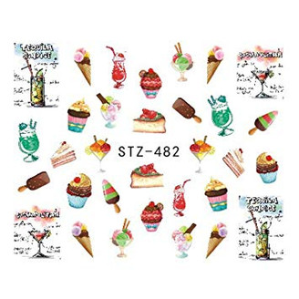 Water Slide Decals - Treats STZ-482