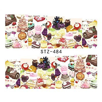 Water Slide Decals - Cakes STZ-484