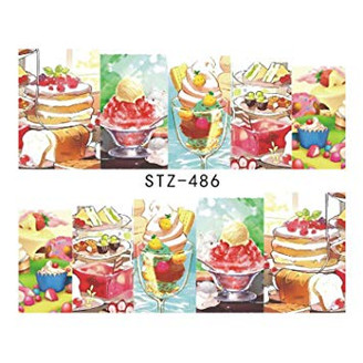 Water Slide Decals - Sweet Treats STZ-486