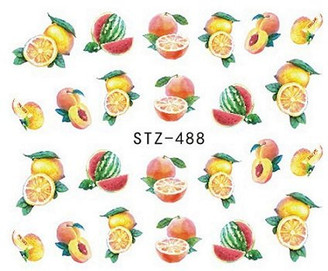 Water Slide Decals - Fruity STZ-488