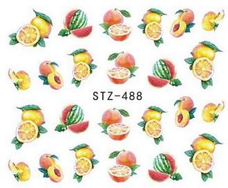 Water Slide Decals - Fruity STZ-488
