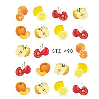 Water Slide Decals - Fruity STZ-490