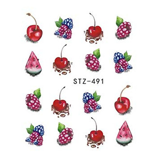 Water Slide Decals - Fruity STZ-491