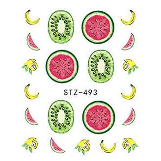 Water Slide Decals - Fruity STZ-493