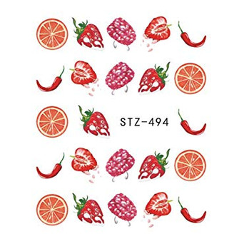 Water Slide Decals - Fruity STZ-494