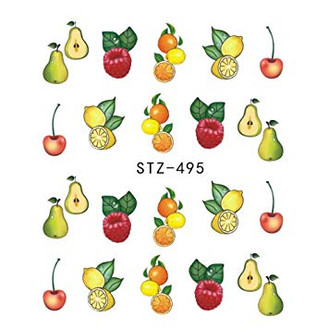 Water Slide Decals - Fruity STZ-495
