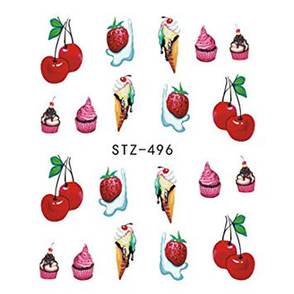 Water Slide Decals - Treats STZ-496