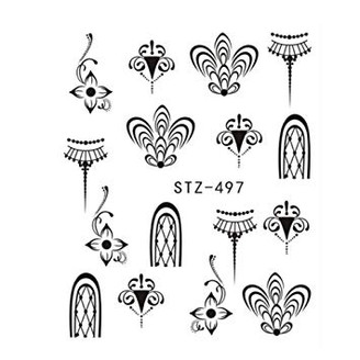 Water Slide Decals - Fancy STZ-497