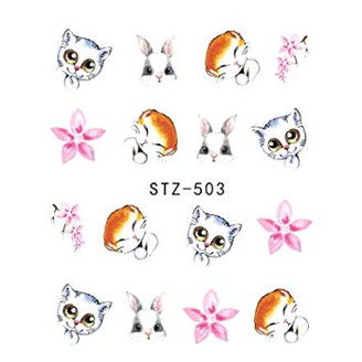 Water Slide Decals - Cuties STZ-503