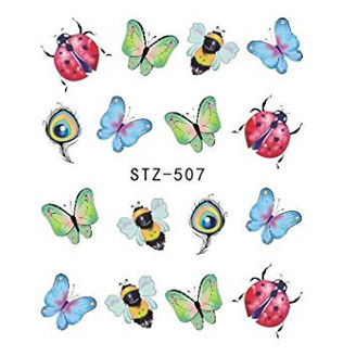 Water Slide Decals - Spring STZ-507