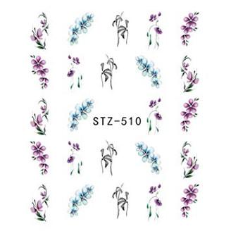 Water Slide Decals - Flowers STZ-510