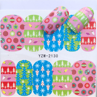 Water Slide Decals - Winter YZW-2130