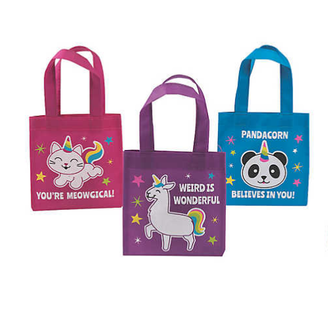 Mini Anicorn Tote Bags