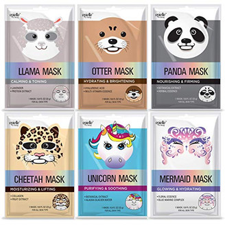 Assorted Character Facial Sheet Masks