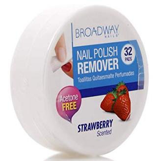 Broadway Nail Polish Remover Pads