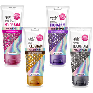 Epielle Hologram Peel-Off Face Masks
