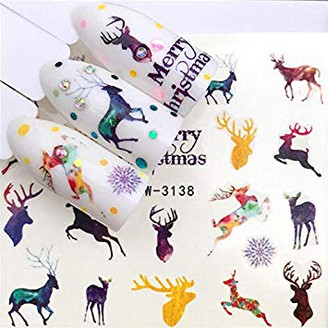Water Slide Decals - Christmas YZW-3138