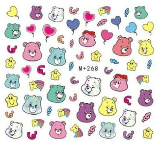 Water Slide Decals - Care Bears +268