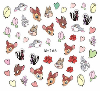 Water Slide Decals - Bambi +266
