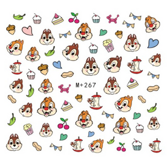 Water Slide Decals - Chip & Dale +267