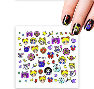 Water Slide Decals - Sailor Moon +250