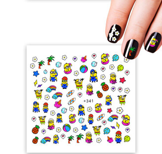 Water Slide Decals - Minions +341