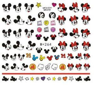 Water Slide Decals - Mickey Minnie +264