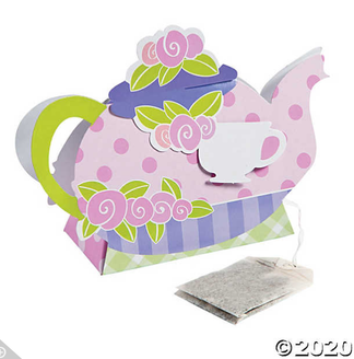 'Tea Party' 1pc. Deluxe Box