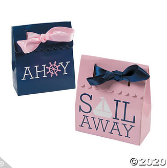 'Sail Away' 1pc. Deluxe Box