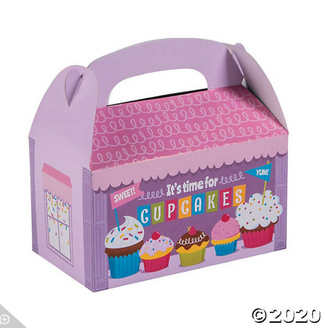 'Strawberry Cupcake' 4pc. Deluxe Box