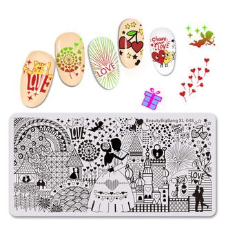 Stamping Plate - BeautyBigBang XL - 048