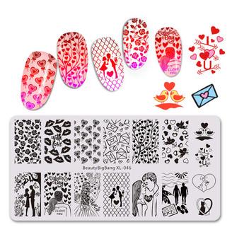 Stamping Plate - BeautyBigBang XL - 046