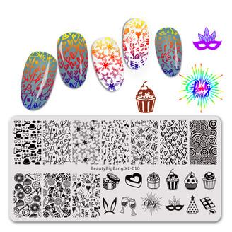 Stamping Plate - BeautyBigBang XL - 010