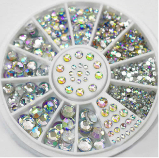 Silver 'Diamond' Rhinestones