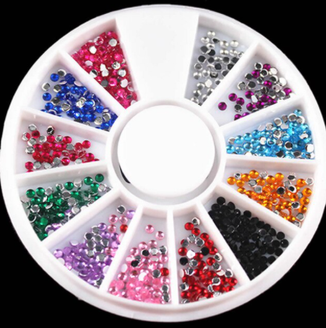Multicolor 'Diamond' Rhinestones