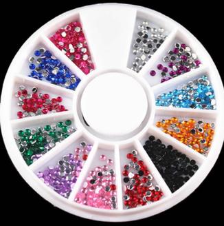 Multicolor 'Diamond' Rhinestones